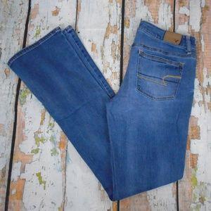 American Eagle Skinny Kick Denim Jeans (U-10)